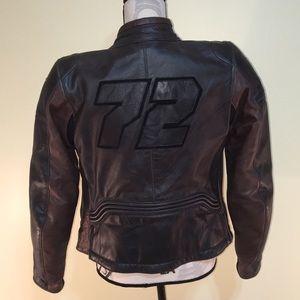 Dainese Leather Armoured Motorcycle Jacket